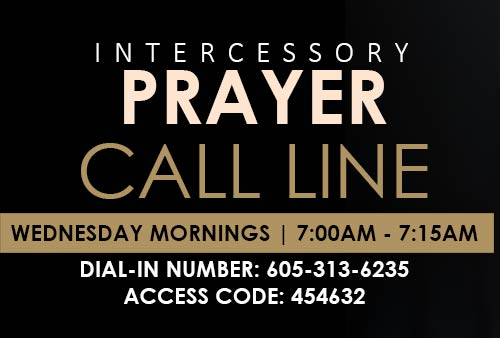 Intercessory Prayer  Call